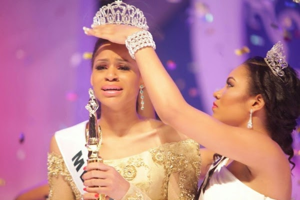 Miss Nigeria 2014: Akwa Ibom, Iheoma Nnadi, wins the MBGN title