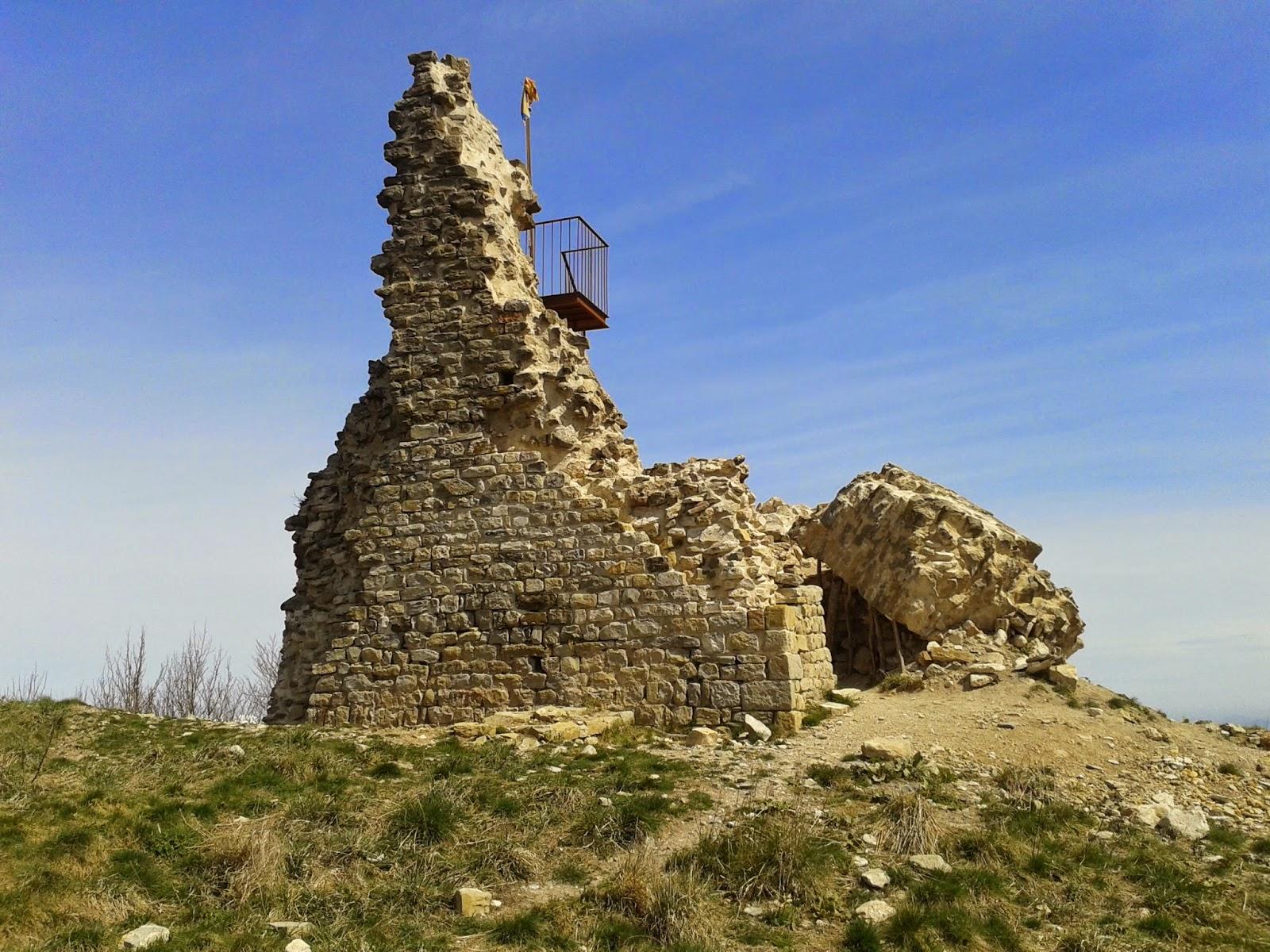 Castell de Milany (El repte dels 100 cims)