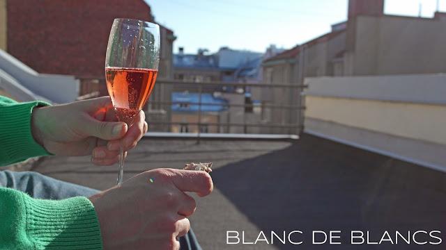 Kesän ensimmäinen terassiskumppa - www.blancdeblancs.fi