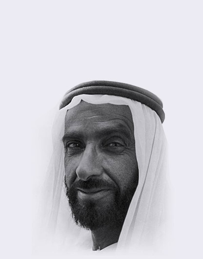Late Sheikh Zayed bin Sultan Al Nahyan