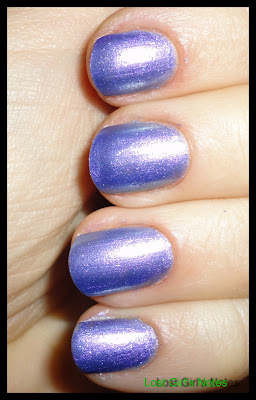 not so blueberry nail polish review