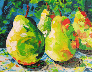 galleries in atlanta, pears in art, atlanta artists