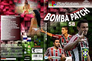 Jogo Bomba Patch 58 PS2 DVD Capa