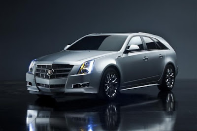 2011 Cadillac CTS Sport Wagon side view