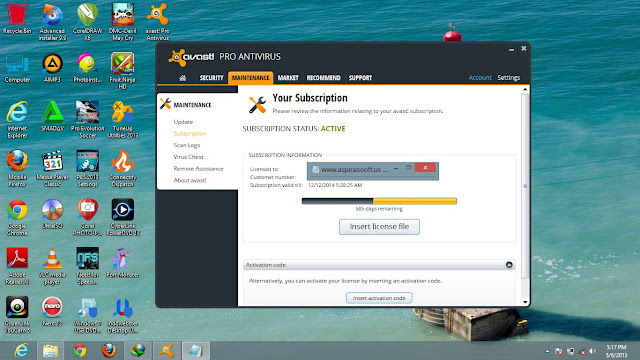 avast! Pro Antivirus 8 Full License Key Until 2014 - Sharebeast