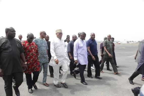 News : Rotimi Amaechi spotted in Port Harcourt [ Photos ]