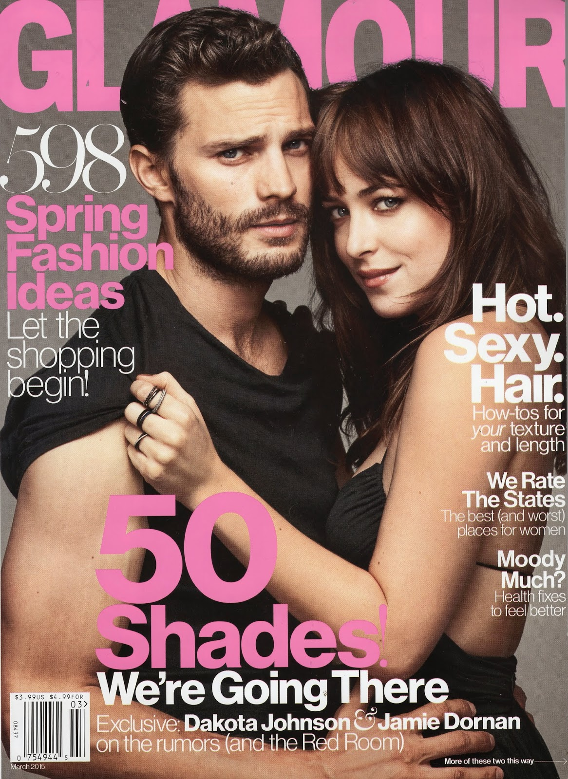 Jamie Dornan and Dakota Johnson Magazine