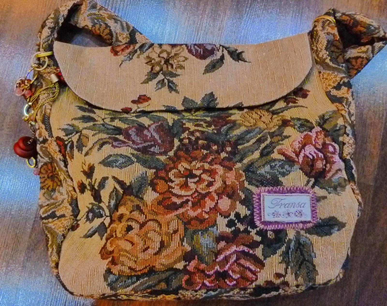 Женская сумка своими руками из гобелена - Женская сумка из гобелена. Как сшить своими руками?