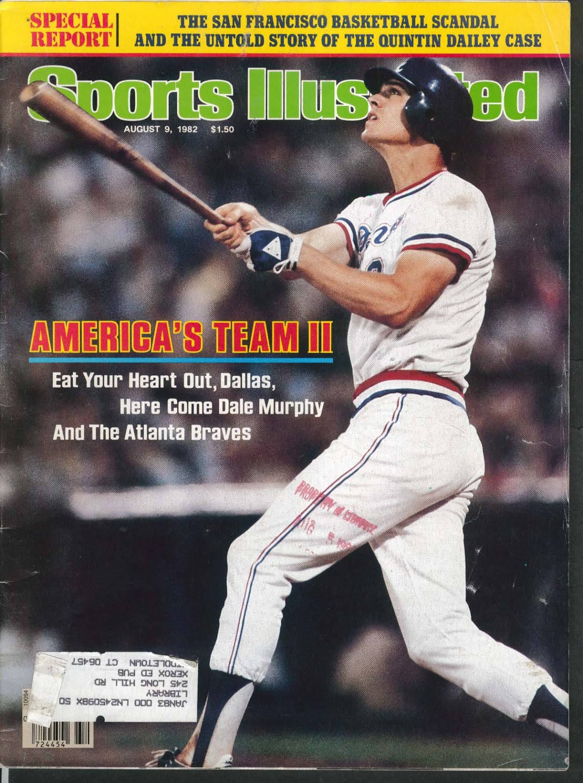 Atlanta Braves #100 Favorite Players from the 1970's
