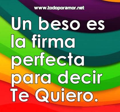 Imagenes de amor con frases de besos y del corazon - www.todoporamor.net