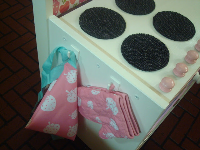 IKEA strawberry Rast play kitchen