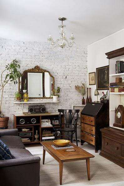 L 39 anima vintage di un appartamento a manhattan la for Living room coiffeur
