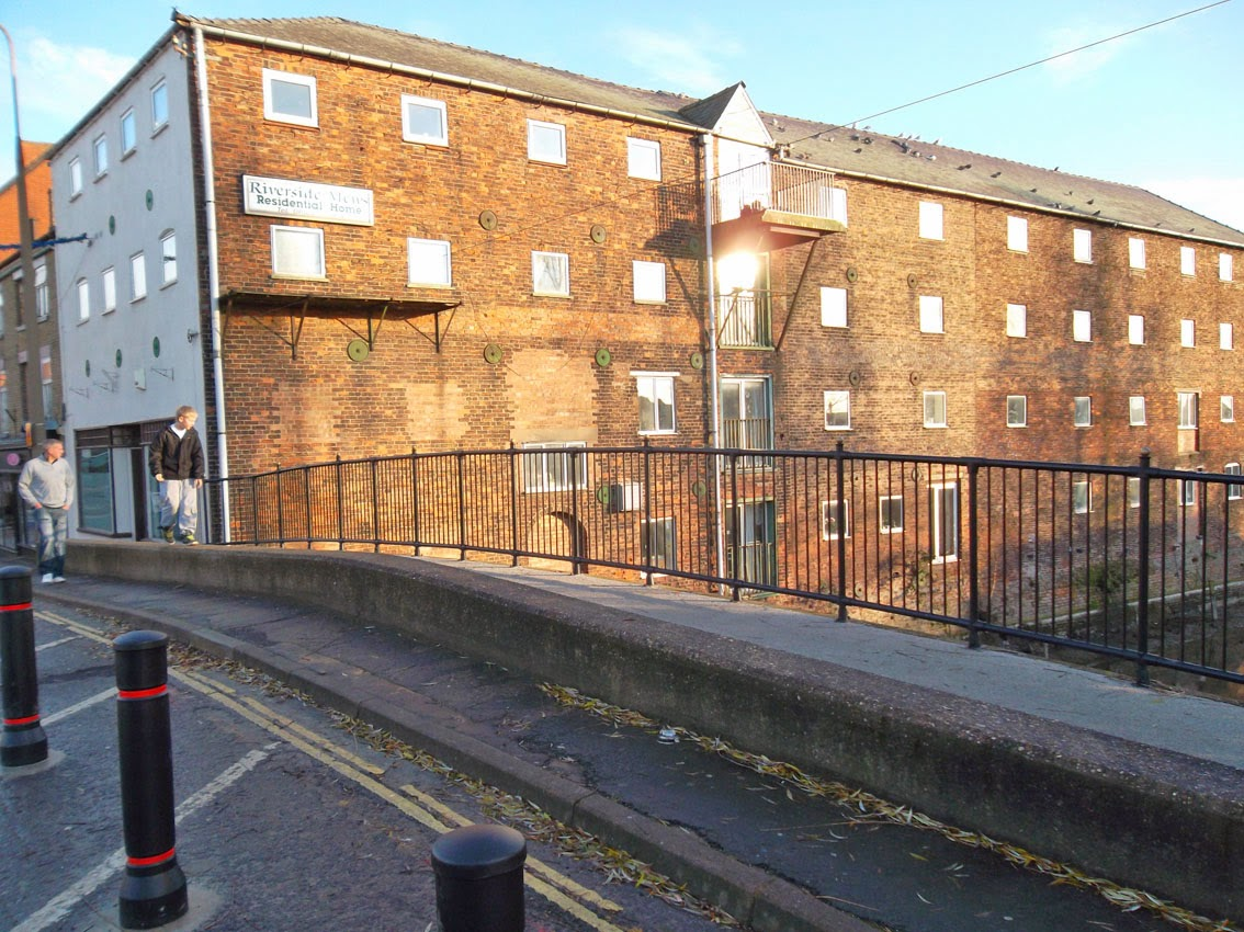 Riverside Mews Residential Home in Brigg town centre - picture on Nigel Fisher's Brigg Blog