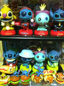 Stitch Scrump Figures