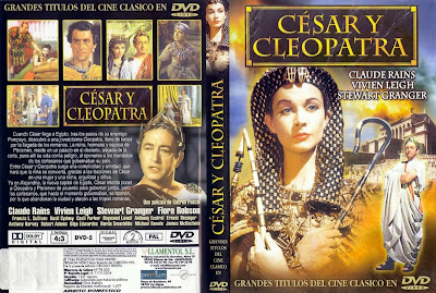 Cover, dvd: César y Cleopatra | 1945 | Caesar and Cleopatra