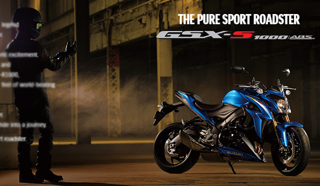 nuova GSX-S 1000 ABS SP