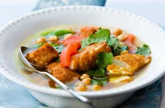 Moroccan fish soup recipe lebanese recipes for Moroccan fish recipe