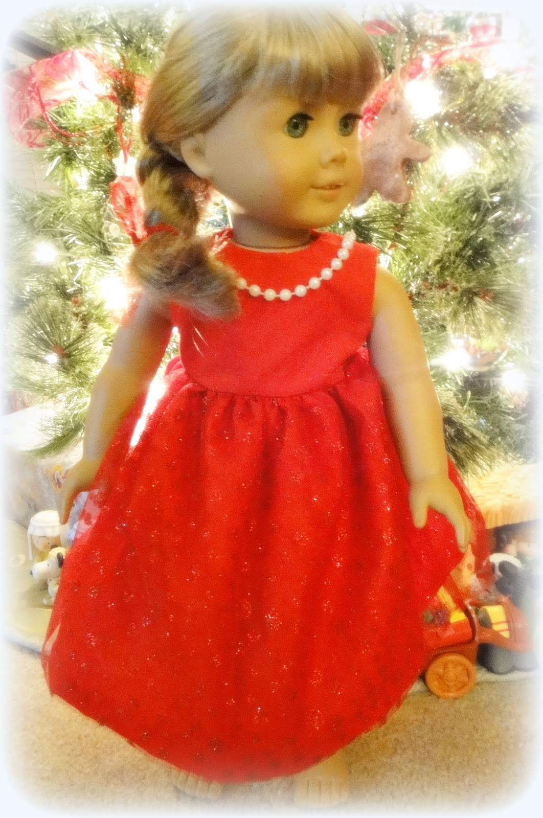 Free Basic Dress Pattern For American Girl And 18u0026quot; Dolls