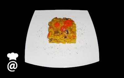 Recetas Dieta Arroz con Verduras al Curry