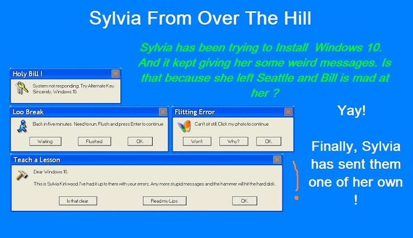 Sylvia From Over The Hill