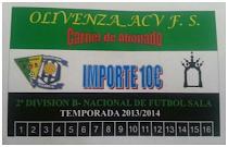 Abonos (10) Temporada - 2013-14