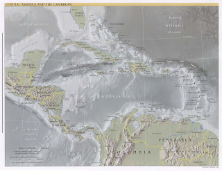 CENTROAMERICA  MAPAS DE
