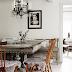 Valkoista, taidetta ja huonekaluja