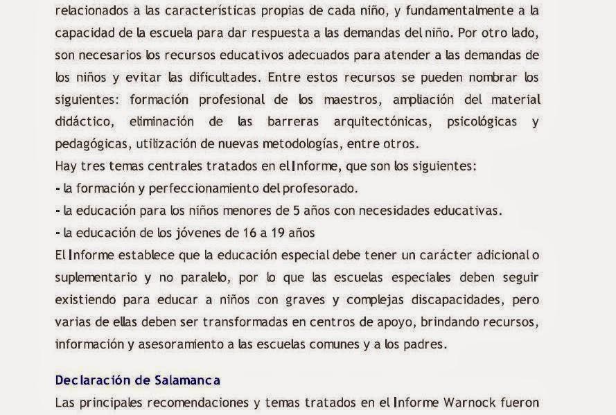 Introducción a la Educación Especial : Educación Especial Marco ...