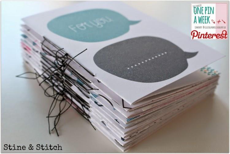 stine stitch hefte binden leicht gemacht. Black Bedroom Furniture Sets. Home Design Ideas