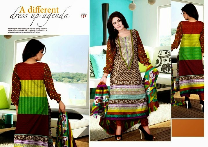 Ajwa Classic Lawn Collection 2014