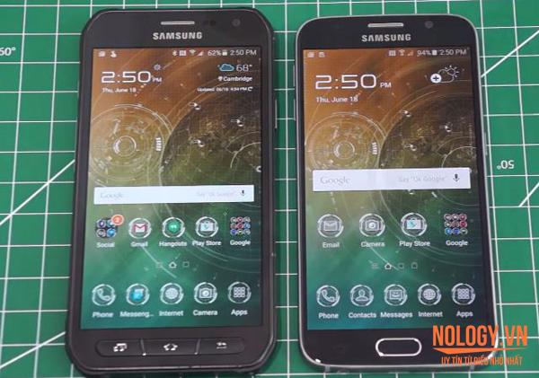 Samsung Galaxy S6 xách tay và Samsung Galaxy S6 Active.