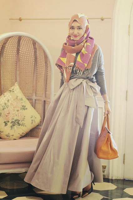 Model Jilbab Terbaru Ala Dian Pelangi