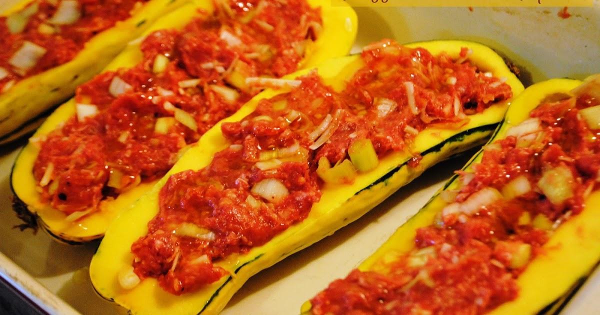 Culinary Adventures with Camilla: Stuffed Delicata Squash