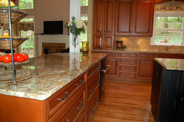 kitchen granite modern design ideas