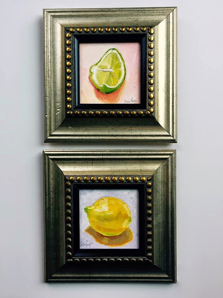kitchen art, Schifano, citrus picture