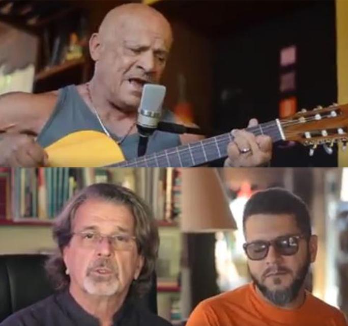 """MÚSICA: Mestre Tabosa grava a Música """"Diário de Bordo"""""""