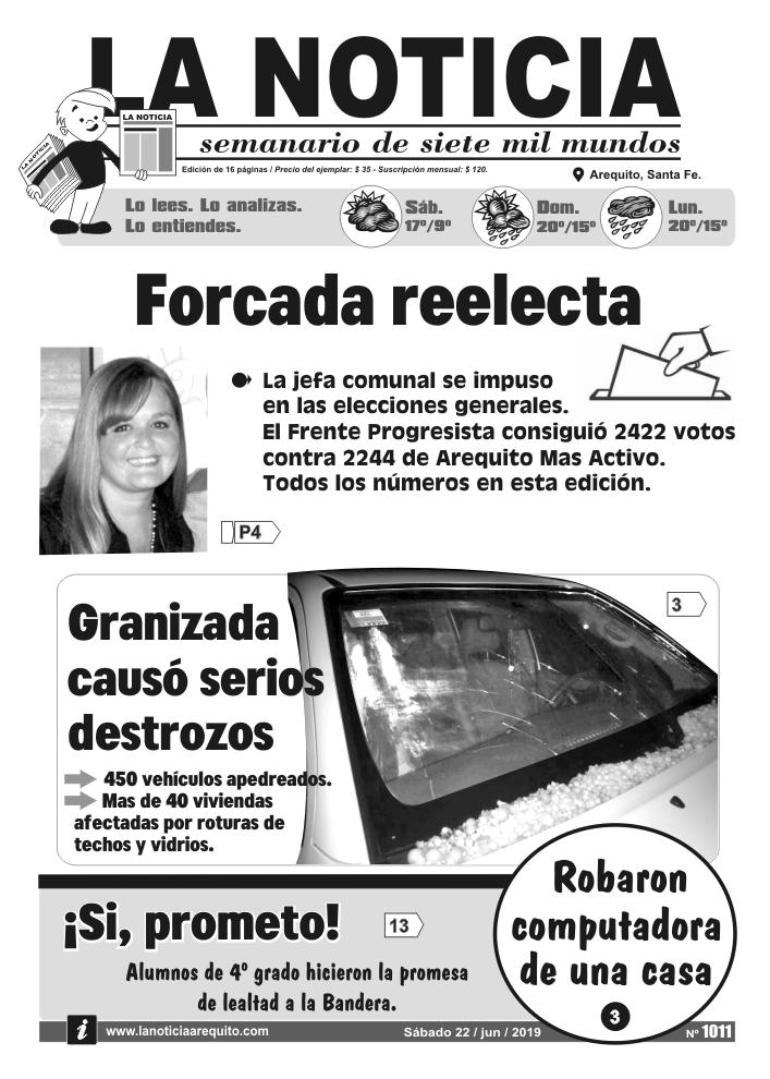Tapa edición impresa