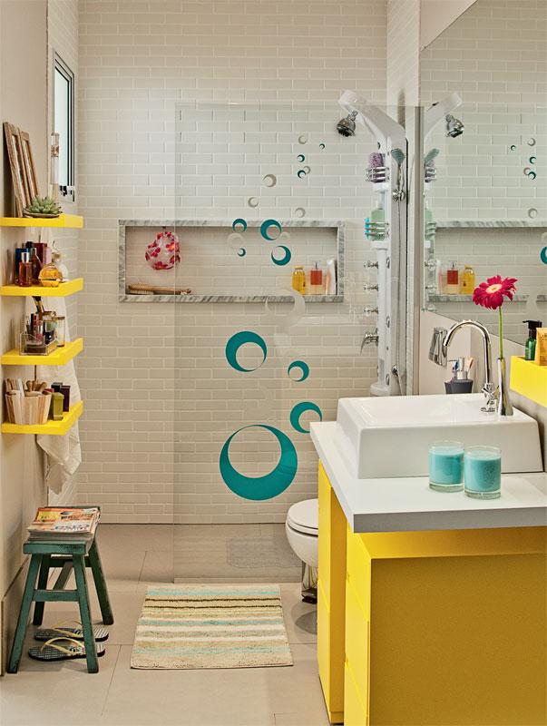 Meu primeiro Apartamento Banheiro com mármore instalado -> Nicho Banheiro Vertical