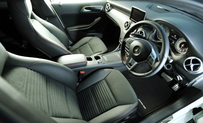 Mercedes A-Class AMG Sport interior