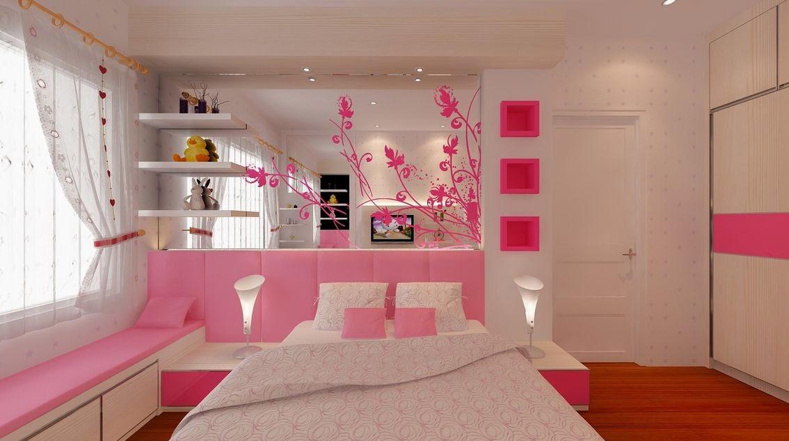 Warna cat kamar tidur anak perempuan