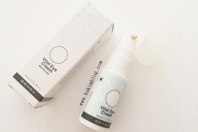 benev vital eye cream fiyati 2015 ise yariyor mu benev urunleri