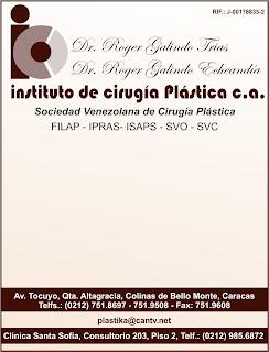 INSTITUTO DE CIRUGIA PLASTICA, C.A. en Paginas Amarillas tu guia Comercial