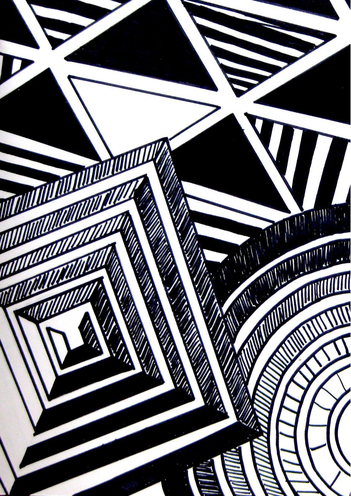 Line Composition Design : Nwsa d art august
