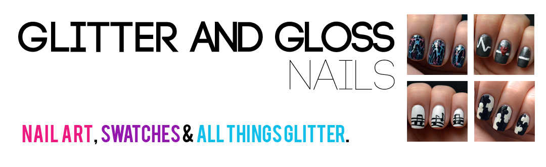 Glitter and Gloss Nails