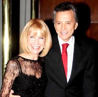 Palito Ortega feliz junto a su esposa Evangelina Salazar