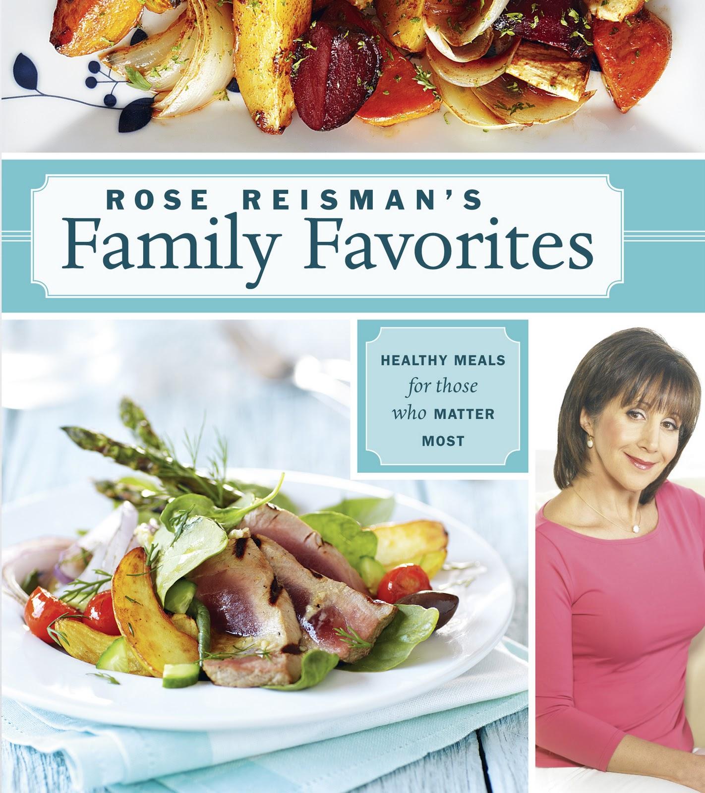 Rose Reisman\'s Family Favorites Cookbook Review - My Cookbook Addiction