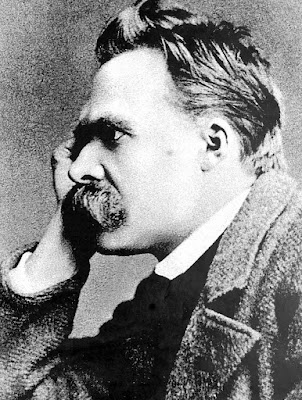 Nietzsche thinking photo