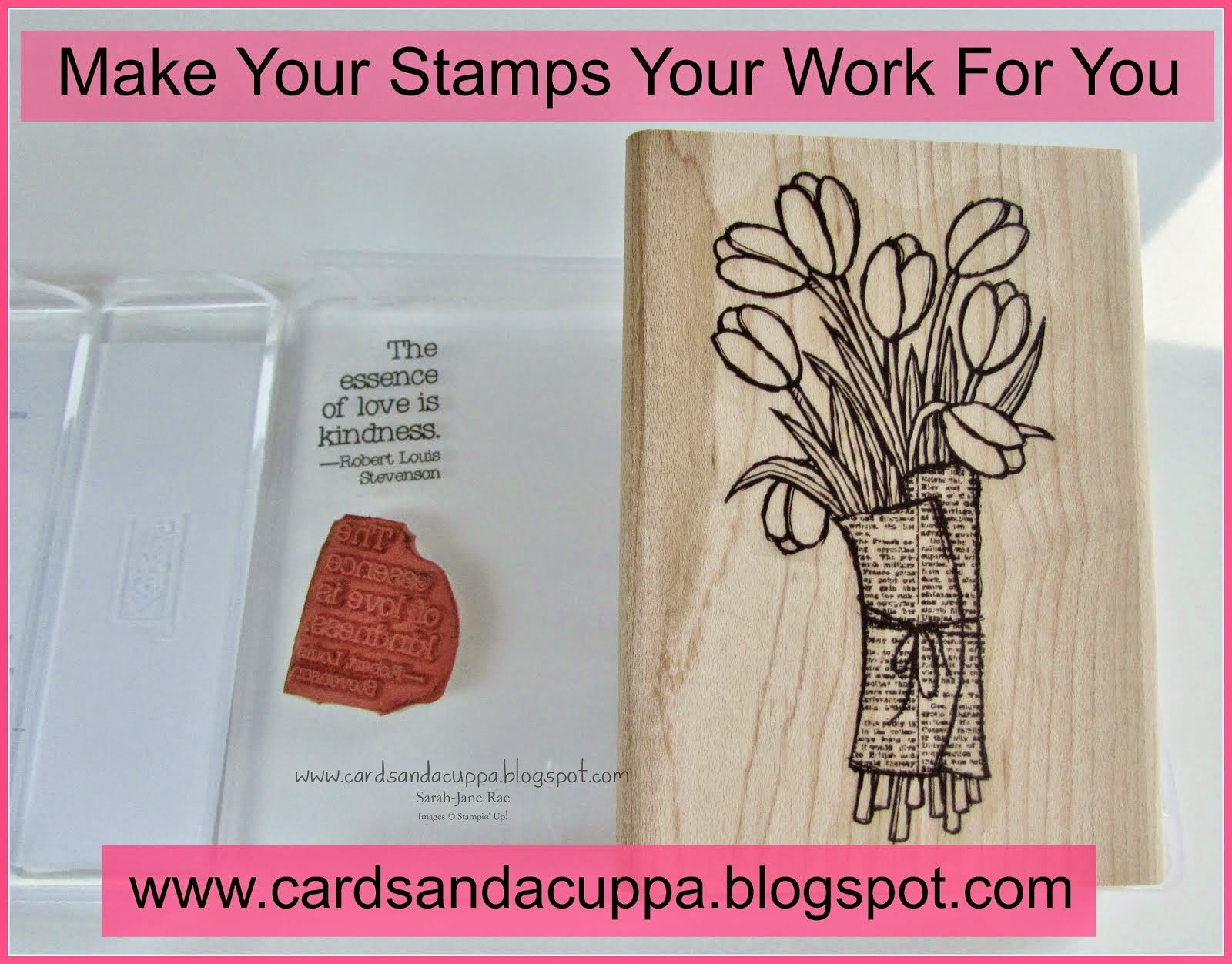 Make You Stamps Work For You