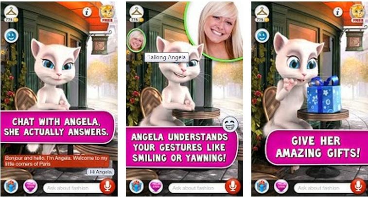 Talking Angela Conversations