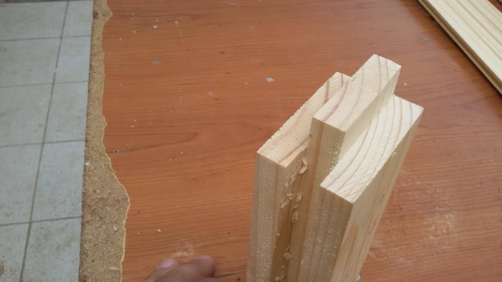 Cosas de mariote puerta para la despensa - Hacer una puerta de madera ...